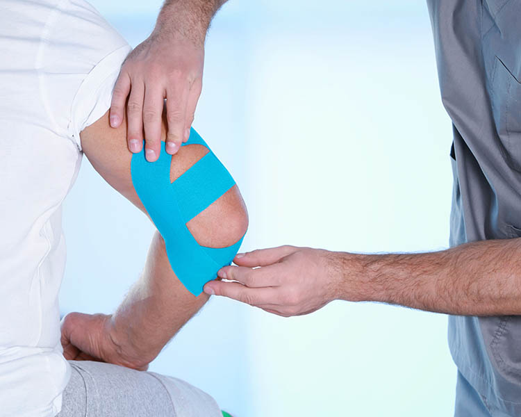 Physiotherapie Tape